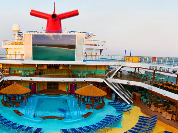 Cruceros a bordo del Carnival Vista