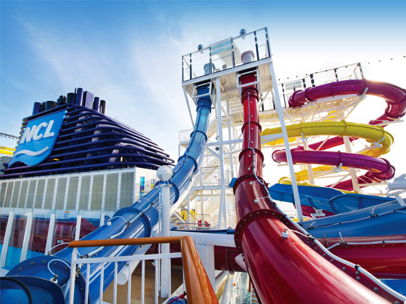 Bienestar a bordo del Norwegian Breakaway