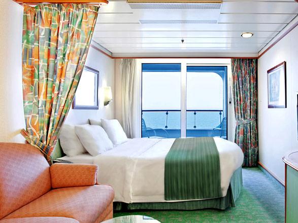 Foto camarote Adventure of the Seas  - Camarote con balcón