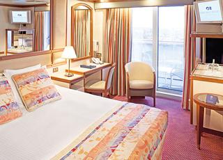 Foto camarote Caribbean Princess  - Camarote con balcón