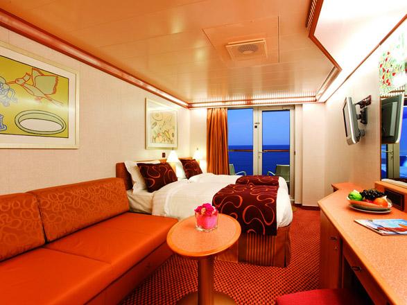 Foto camarote Costa Deliziosa  - Camarote con balcón