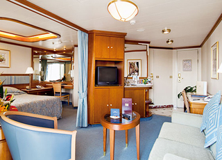 Foto camarote Dawn Princess  - Camarote suite