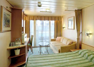 Foto camarote Grandeur of the Seas  - Camarote con balcón