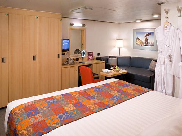 Foto camarote MS Eurodam  - Camarote interior