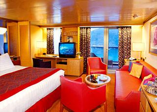 Foto camarote MS Noordam  - Camarote suite