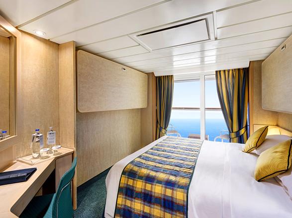 Foto camarote MSC Armonia  - Camarote con balcón