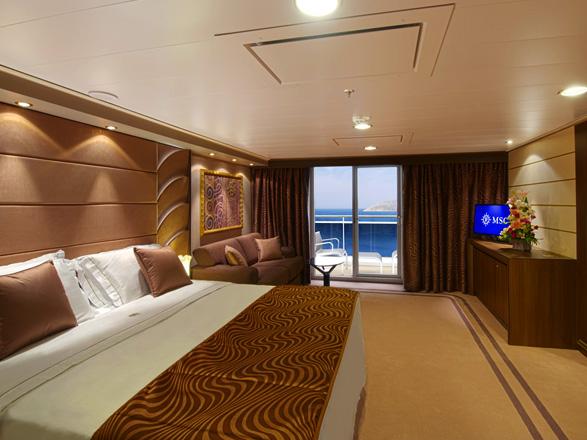 Foto camarote MSC Divina  - Camarote suite