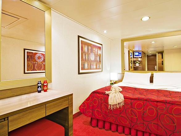 Foto camarote MSC Fantasia  - Camarote interior