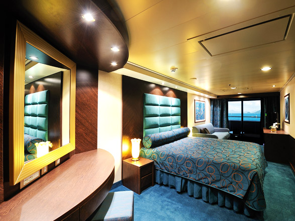 Foto camarote MSC Fantasia  - Camarote suite