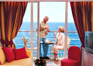 Foto camarote MSC Lirica  - Camarote suite