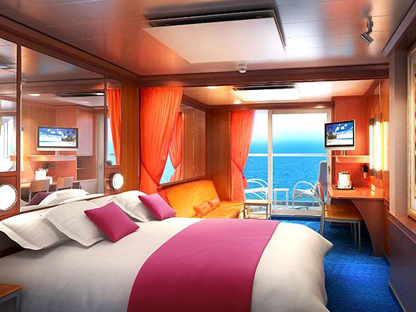 Foto camarote Norwegian Pearl  - Camarote suite
