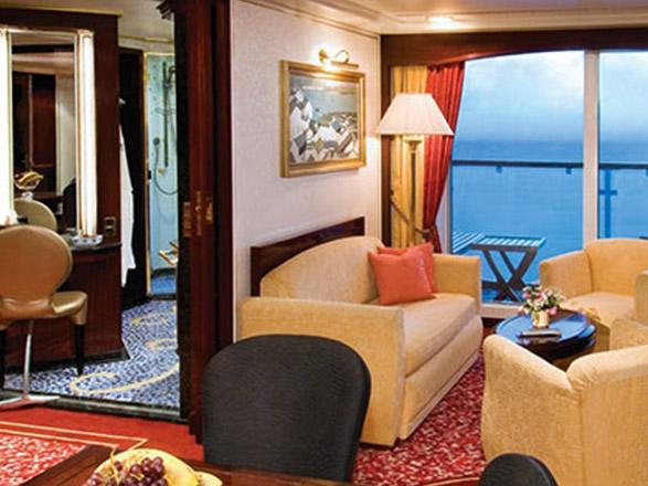 Foto camarote Norwegian Spirit  - Camarote suite