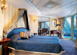 Foto camarote Ocean Princess  - Camarote suite