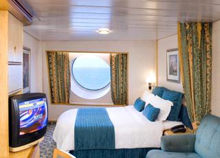 Foto camarote Voyager of the Seas  - Camarote exterior