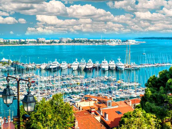 Costa Azul, Corcega, Baleares, Italia