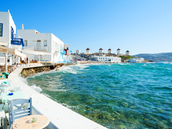 Crucero Mykonos(Grecia)