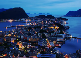 Croisière Alesund(Norvège)