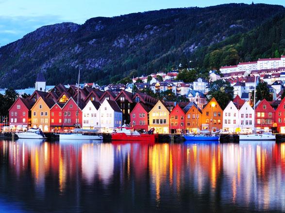 Croisière Norvège: Bergen, Molde, Kirkenes, Trondheim...
