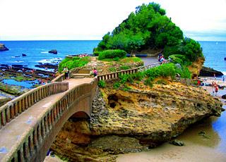 Croisière escale à Biarritz (France)