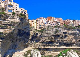 Croisière escale à Bonifacio (France)