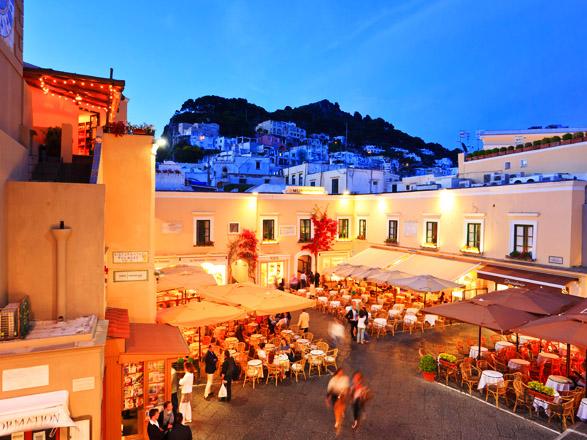 Croisière escale à Capri (Italie)