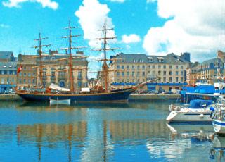 Croisière escale à Cherbourg (France)
