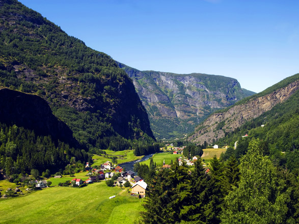 Croisière Flaam(Norvège)