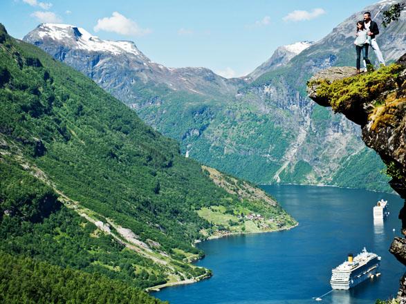 Croisière Geiranger(Norvège)