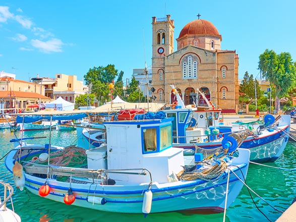 Croisière Îles grecques : Santorin, Mykonos et Rhodes