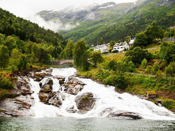 Croisière Hellesylt(Norvège)
