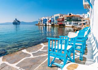 Croisière La Grèce en 3 jours: Mykonos, Patmos, Santorin...