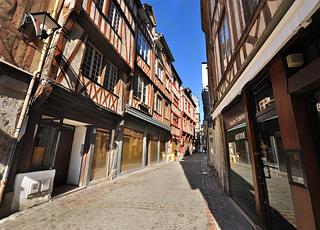 Croisière escale à Rouen (France)