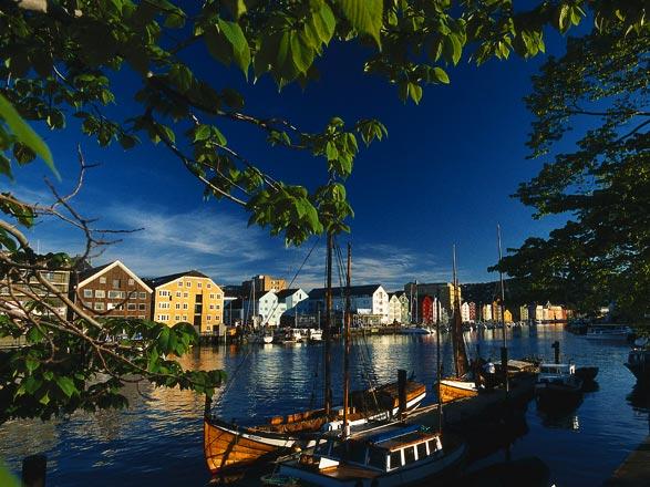Croisière Trondheim(Norvège)