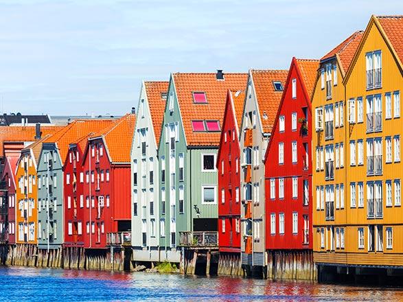 Croisière Fjords de Norvège - Départ Trondheim