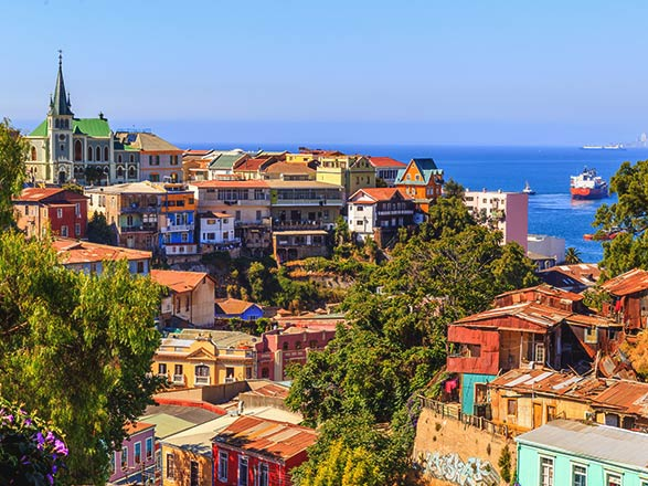 Croisière Valparaiso(Chili)