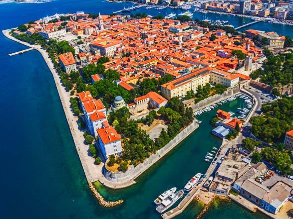 Croisière Zadar