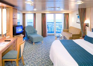 Photo cabine Adventure of the Seas  - Cabine Suite