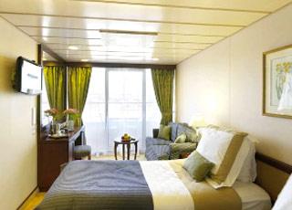 Photo cabine Azamara Quest  - Cabine avec balcon