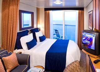 Photo cabine Brilliance of the Seas  - Cabine avec balcon
