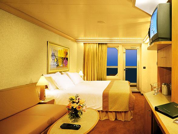 Photo cabine Carnival Liberty  - Cabine avec balcon