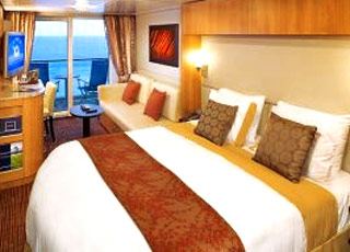 Photo cabine Celebrity Equinox  - Cabine avec balcon