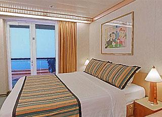 Photo cabine Costa Atlantica  - Cabine avec balcon