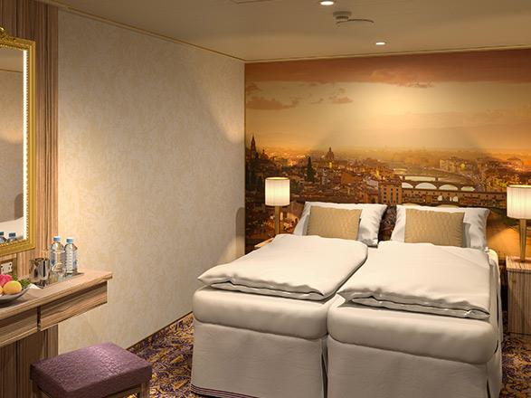 photo cabine ab Costa Firenze  - Cabine intérieure