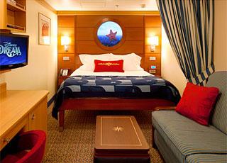 Photo cabine Disney Dream  - Cabine intérieure