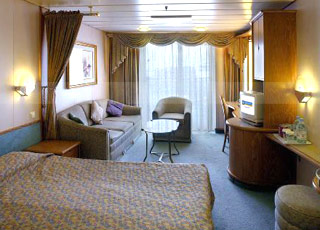 Photo cabine Legend of the seas  - Cabine Suite