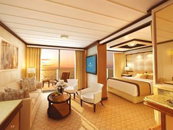 photo cabine ab Majestic Princess - Suite