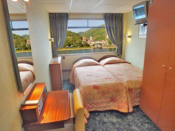 Photo cabine MS Modigliani (ou similaire)  - Cabine extérieure