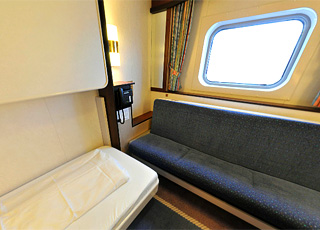 photo cabine ab MS Polarlys  - Cabine avec balcon