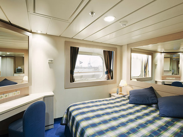 Photo cabine MSC Lirica  - Cabine extérieure