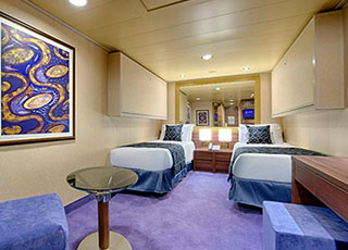photo cabine ab MSC Meraviglia  - Cabine intérieure